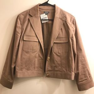 Tan Kenneth Cole Reaction Jacket